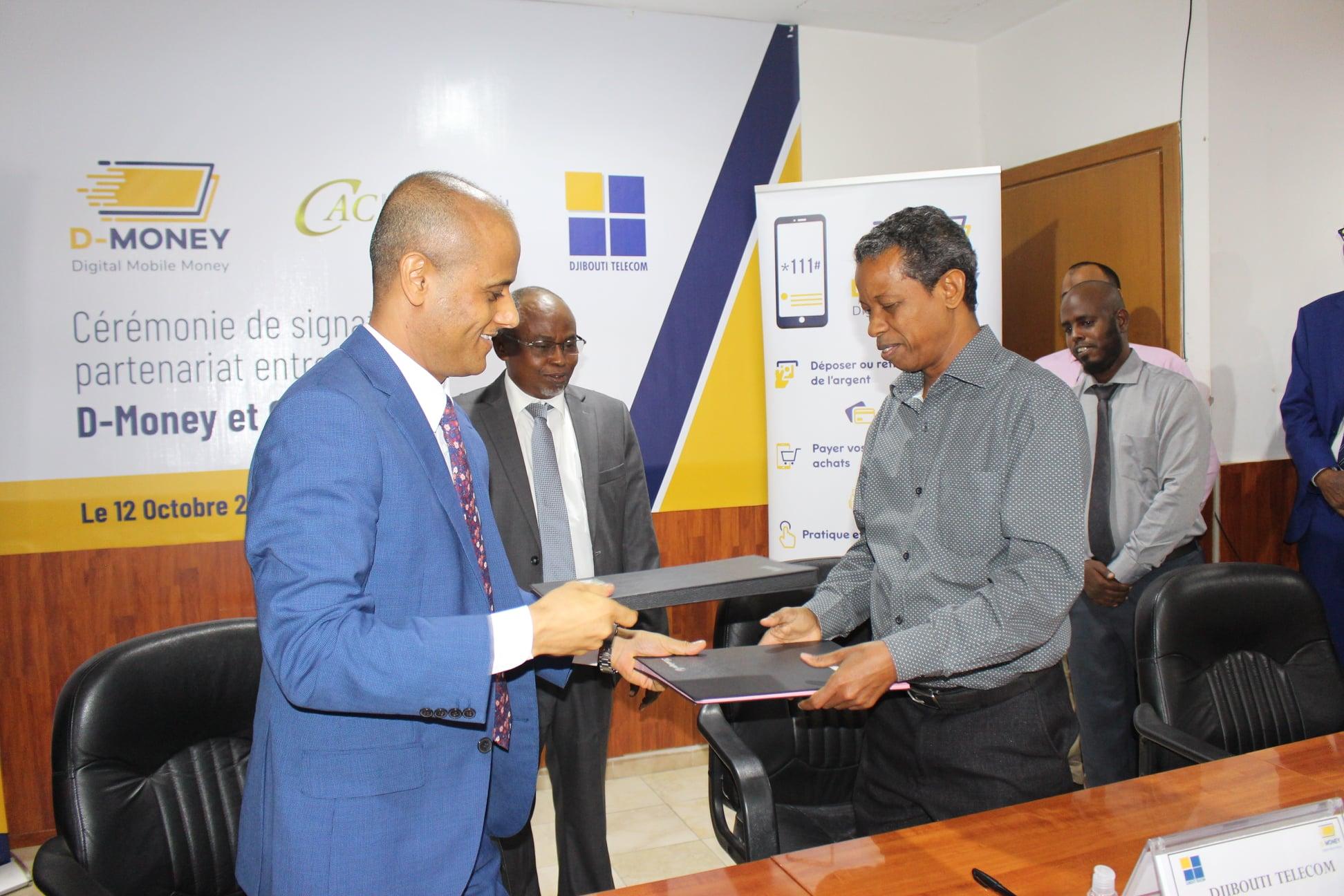 Nouveau partenariat !!! D-MONEY – CAC International Bank